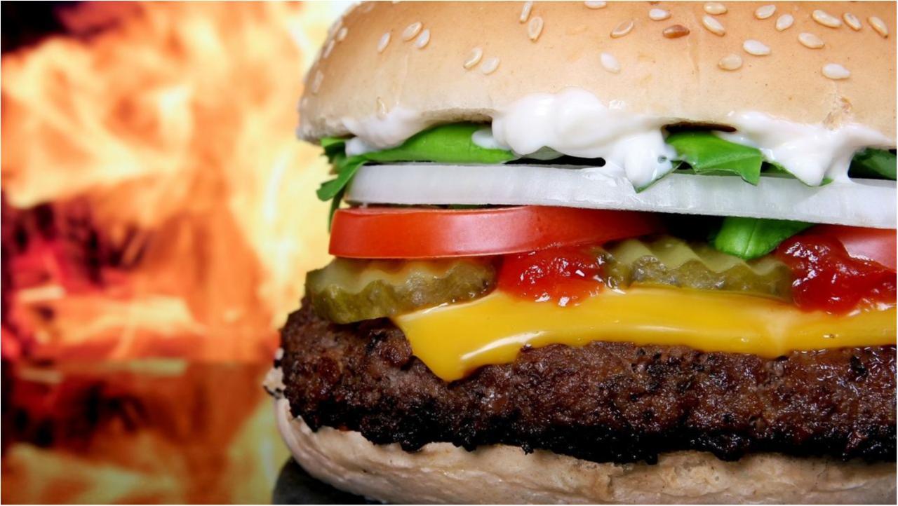 Ein Cheeseburger
