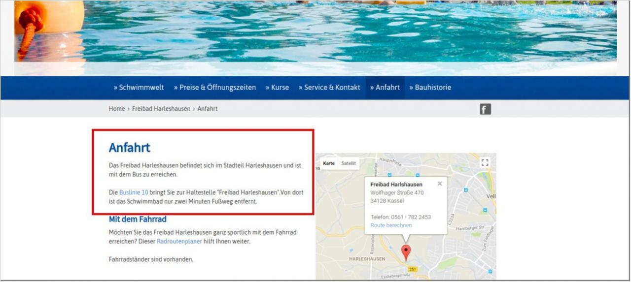 Screenshot Webseit kassel-baeder.de