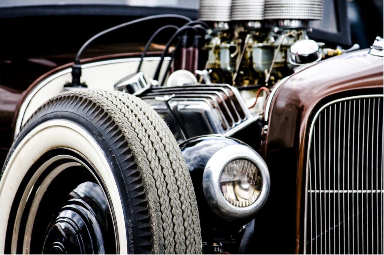 Motorisierung eines Autos