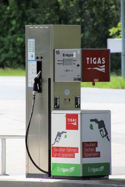 Zapfsäule Autogas