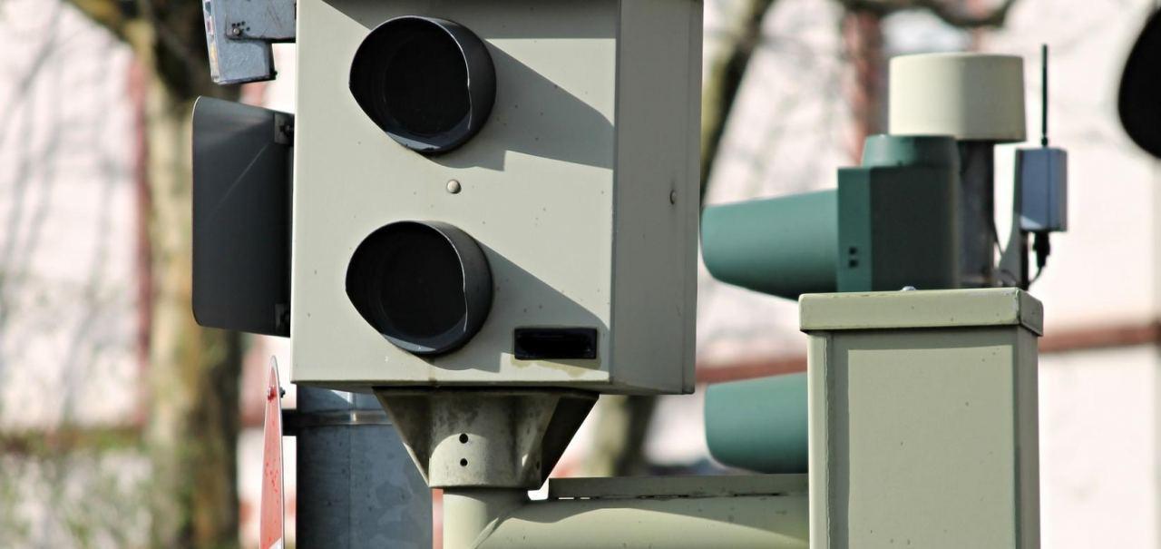 Standard Blitzgerät an Deutschen Straßen